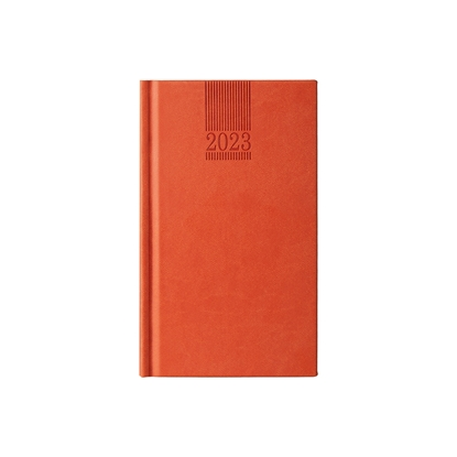 Picture of Calendar-Notepad Pollo, weekpaper, 9 x 16 cm, orange