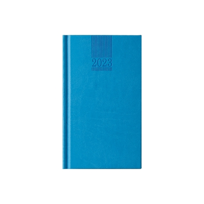 Picture of Calendar-Notepad Pollo, weekpaper, 9 x 16 cm, lightblue