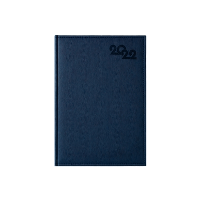 Picture of Calendar-Notepad Sofia, without dates , A4, blue