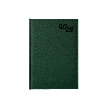 Picture of Calendar-Notepad Sofia, without dates , A4, green