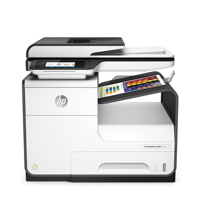 Picture of HP 4 in 1 PageWide Pro 477dw Inkjet printer, colour, A4, Wi-Fi, hi-speed