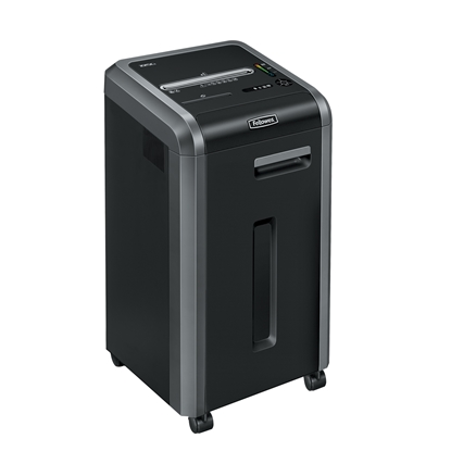 Picture of Fellowes Shredder Powershred 225Ci, 100% Jam Proof, Cross-Cut, 60 L