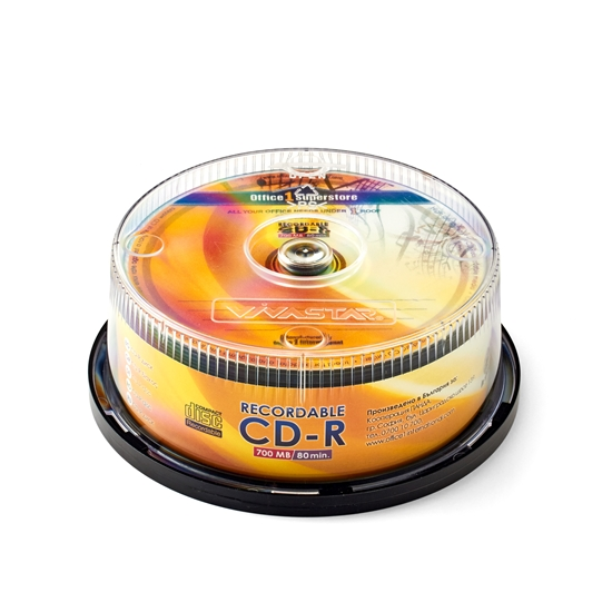 Picture of Office 1 Superstore CD-R, 700 MB, 52x, spindle pack, 25 pcs.