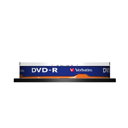 Picture of Verbatim DVD-R, 4.7 GB, 16x, AZO layer, spindle pack, 10 pcs.