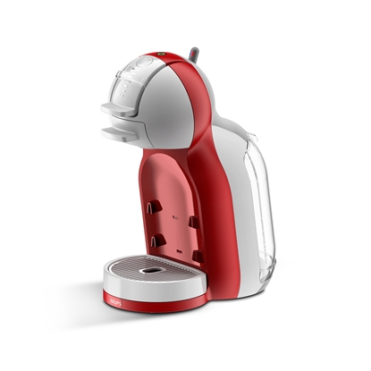 Picture of Krups espresso coffee machine Mini Me, automatic, for capsules Nescafe Dolce Gusto, 1500 W, red
