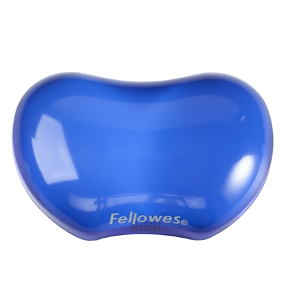 Picture of Fellowes Wrist Rest, silicone, blue