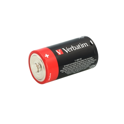 Picture of Verbatim Alkaline Battery, C, LR14, 1.5 V, 2 pcs.