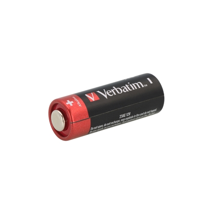 Picture of Verbatim Alkaline Battery, A23, MN21, 23AE, 12 V, 2 pcs.