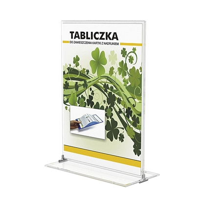 Picture of Panta Plast Plastic Stand, A5, 142 x 222 mm