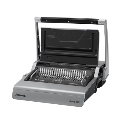 Picture of Fellowes Galaxy Binding Machine, manually operated, with plastic comb, A4, binds up to 500 sheets