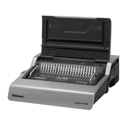 Picture of Fellowes Galaxy-E Binding Machine, electric, with plastic comb, A4, binds up to 500 sheets