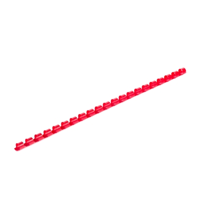 Picture of Top Office Binding Combs, 8 mm, red, 100 pcs.