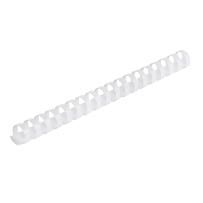 Picture of Top Office Binding Combs, 25 mm, white, 50 pcs.