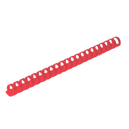 Picture of Top Office Binding Combs, 16 mm, red, 100 pcs.