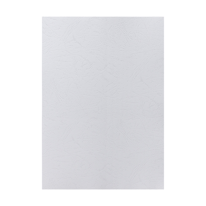 Picture of Top Office Binding Covers, cardboard, A4, leather design,  210 g/m2, white, 10 pcs.