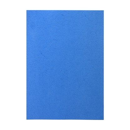 Picture of Top Office Binding Covers, cardboard, A4, leather design,  210 g/m2, red, 100 pcs.