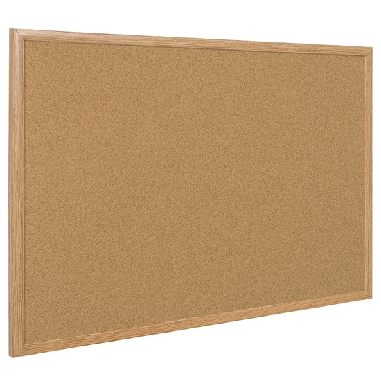 Picture of Bi-Office Corkboard with pine frame, 40 x 60 cm