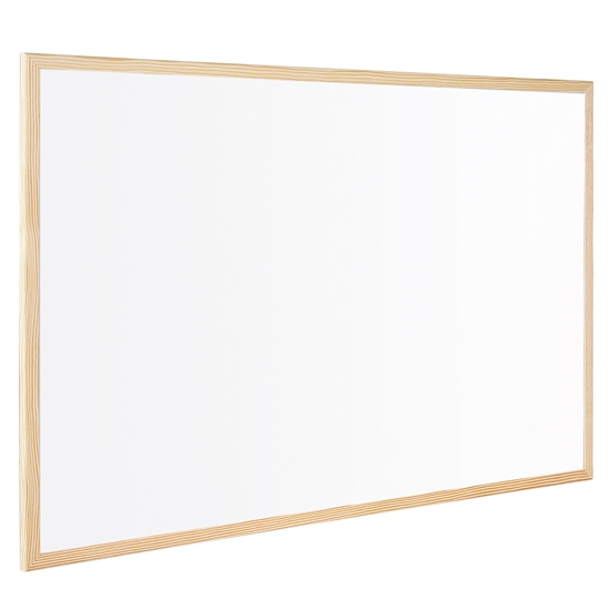 Picture of Bi-Office Whitekboard with pine frame, 30 x 40 cm