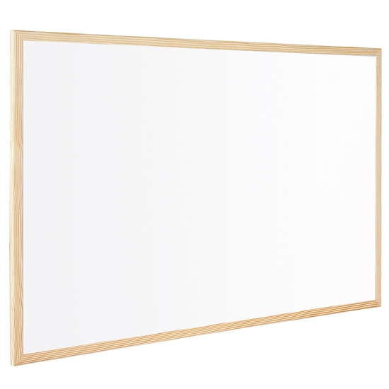 Picture of Bi-Office Whitekboard with pine frame, 40 x 60 cm