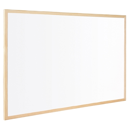 Picture of Bi-Office Whitekboard with pine frame, 60 x 90 cm