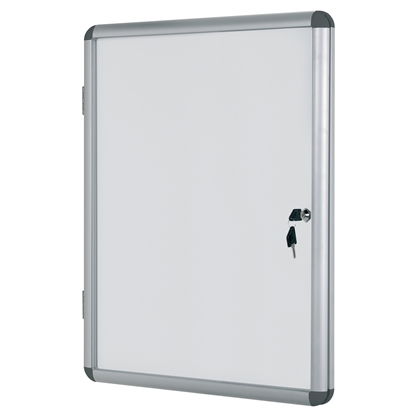 Picture of Bi-Office Magnetic Information Whiteboard, 72 x 67 cm, 6xA4