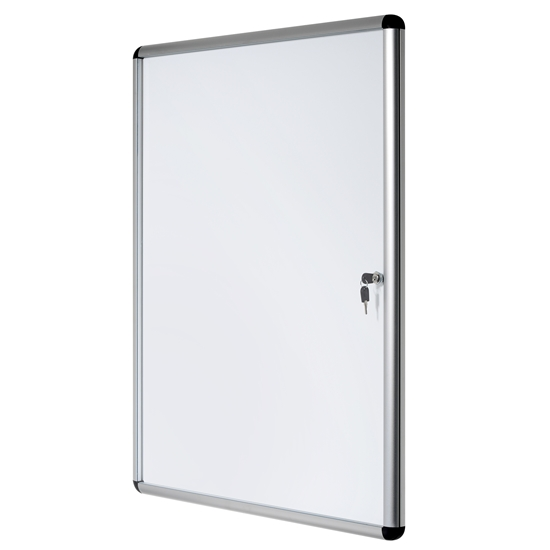 Picture of Bi-Office Magnetic Information Whiteboard, 98 x 94 cm, 12xA4