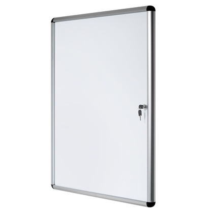 Picture of Bi-Office Magnetic Information Whiteboard, 116 x 129 cm, 20xA4