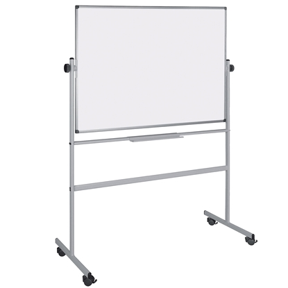 Picture of Bi-Office Magnetic Whiteboard, on wheels, 120 x 180 cm