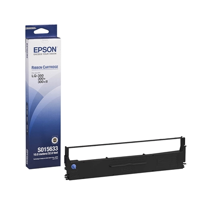 Picture of Epson Tape Black LQ-300/350+/580, C13S015633