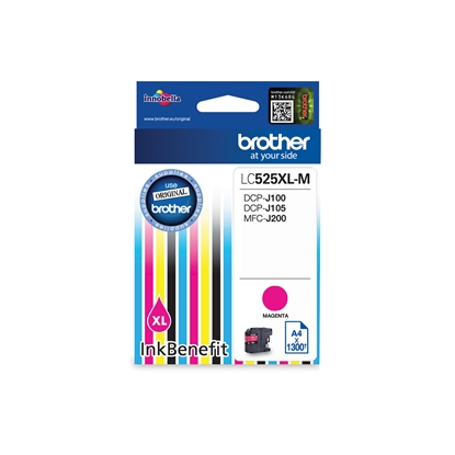 Picture of Brother LC225XL Cartridge, Magenta, 1300 pages/5%
