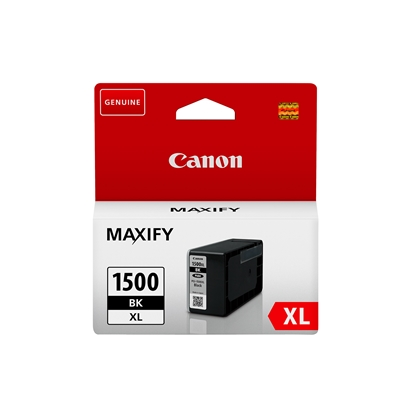 Picture of Canon PGI-1500XL Cartridge 1200 pages/5%, Black
