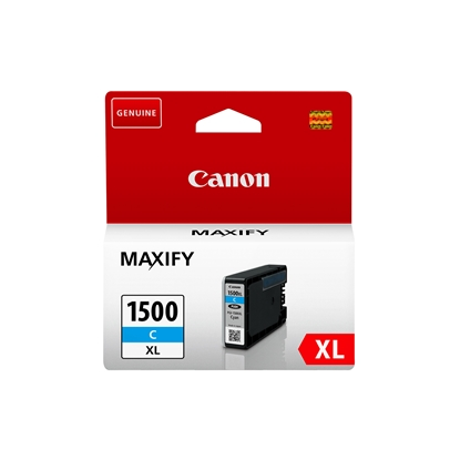 Picture of Canon PGI-1500XL Cartridge 1020 pages/5%, Cyan