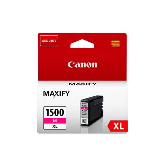 Picture of Canon PGI-1500XL Cartridge 1020 pages/5%, Magenta