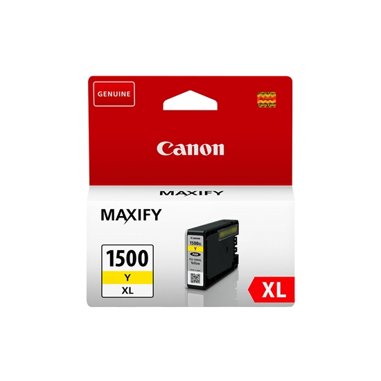 Picture of Canon PGI-1500XL Cartridge 1020 pages/5%, Yellow