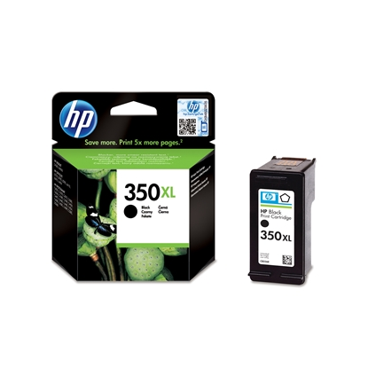 Picture of HP Print head CB336EE, NO350XL, Black
