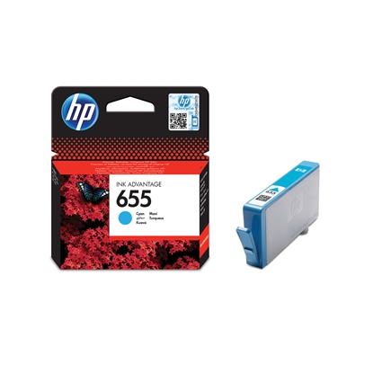 Picture of HP Ink tank CZ110AE, NO655, Cyan