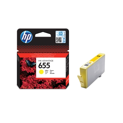 Picture of HP Ink tank CZ112AE, NO655, Yellow