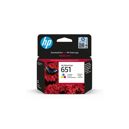 Picture of HP Ink tank C2P11AE, NO651, 300 pages/5%, Colour