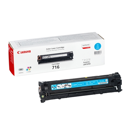 Picture of Toner Canon CRG716, LBP5050, 1500 pages/5%, Cyan