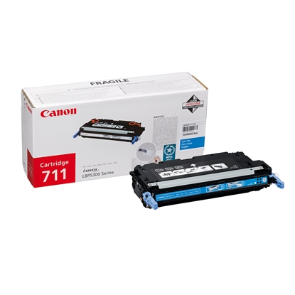 Picture of Canon Toner CRG-711, LBP5300, 6000 pages/5%, Cyan