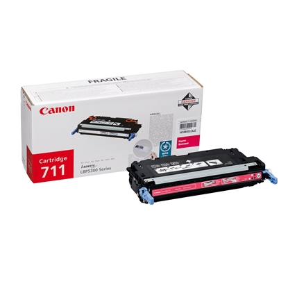 Picture of Canon Toner CRG-711, LBP5300, 6000 pages/5%, Magenta