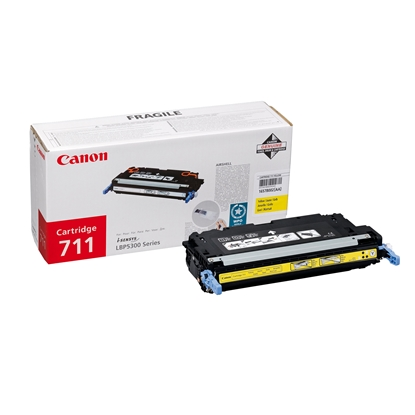 Picture of Canon Toner CRG-711, LBP5300, 6000 pages/5%, Yellow