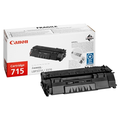 Picture of Canon Toner CRG-715, 3000 pages/5%, Black