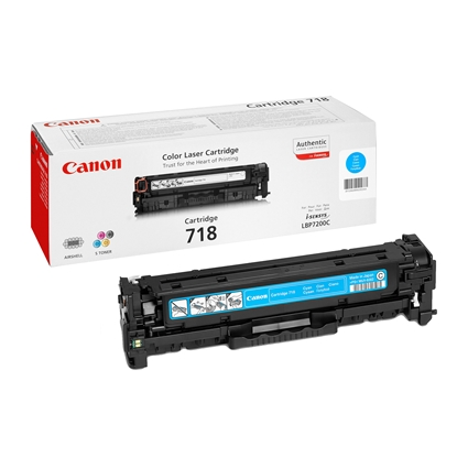 Picture of Toner Canon CRG718, 2900 pages/5%, Cyan