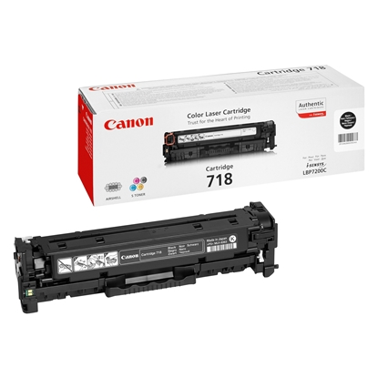 Picture of Toner Canon CRG718, 3400 pages/5%, Black