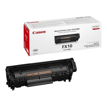 Picture of Toner Canon FX-10, L100/120, 2000 pages/5%, Black