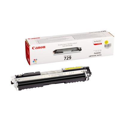 Picture of Canon Toner CRG-729, 1000 pages/5%, Yellow