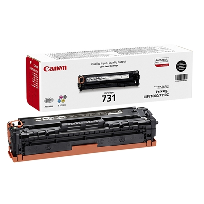 Picture of Toner Canon CRG-731, 1400 pages/5%, Black