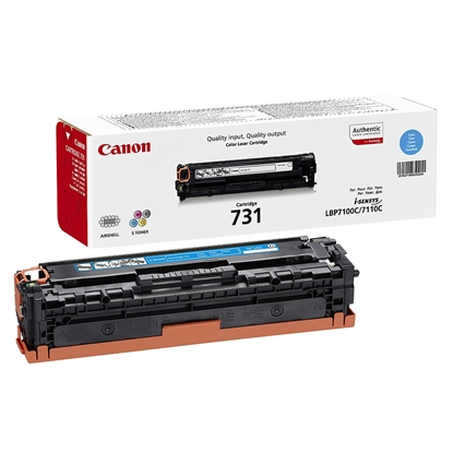 Picture of Canon Toner CRG-731, 1500 pages/5%, Cyan