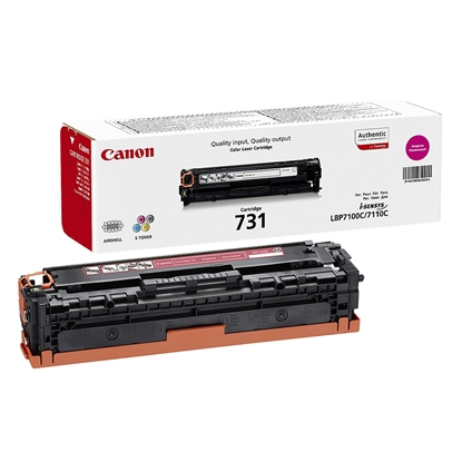 Picture of Canon Toner CRG-731, 1500 pages/5%, Magenta